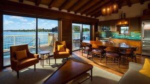 The Bora Bora Bungalows at Disney's Polynesian Resort (Matt Stroshane, photographer)