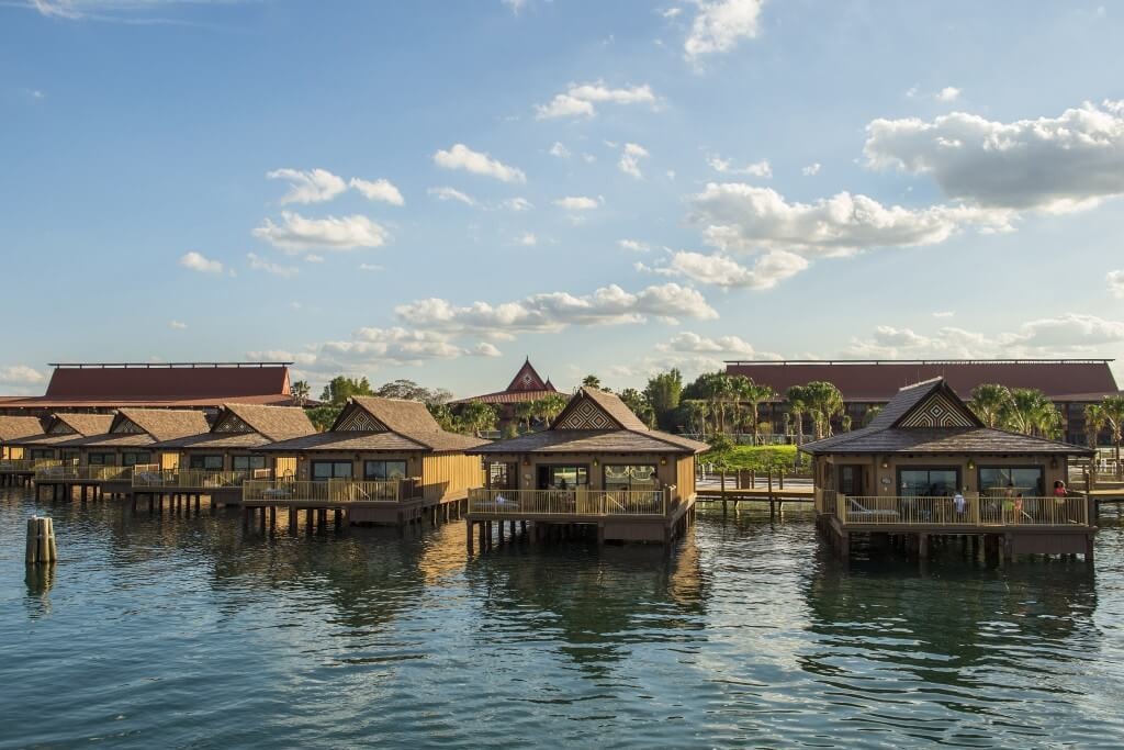 The new over-the-water Bora Bora Bungalows at Disney's Polynesian Resort (Photo by