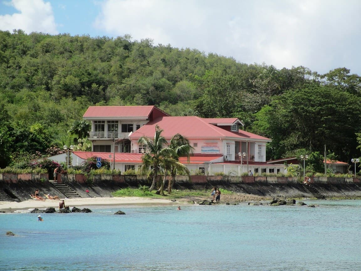 Auberge L'Anse Mitan, built in 1935