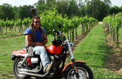 Peace Among The Grapes at Jules J. Berta Winery