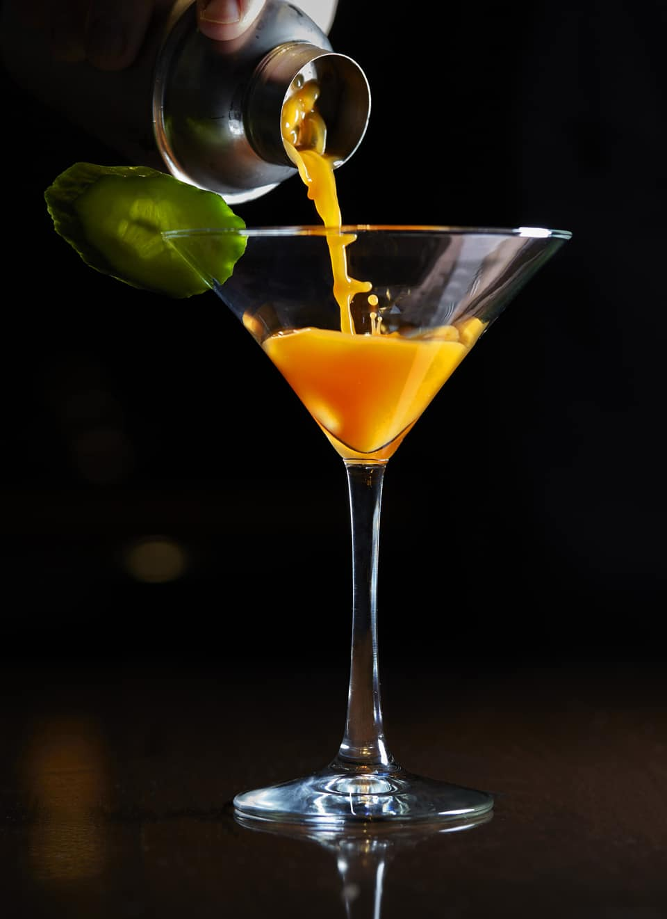 Carrot 43 Martini at The Winery Bar, The American Club, Kohler, Wisconsin, photo courtesy Kohler Co. FWT Magazine.