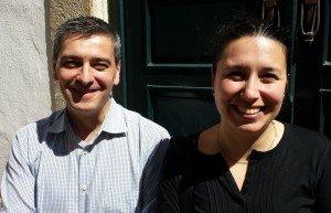 Filomena Brás and partner Jorge (George) Lourenço of Experiment Portugal