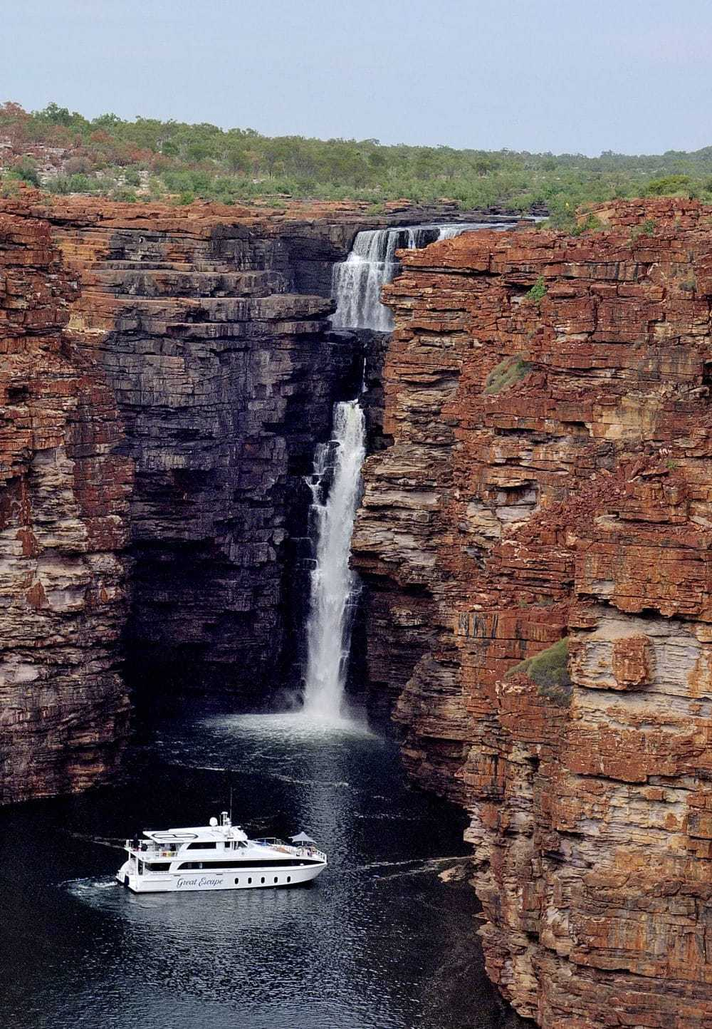 The Art of Exploring the Kimberley Gorges: Australian Small Luxury Cruising
