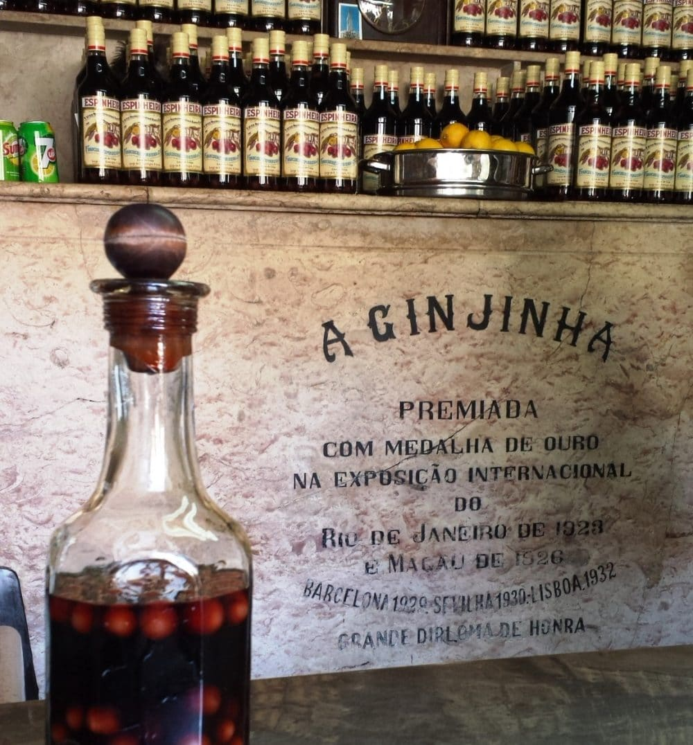 Portugal's Devotion to Ginja: A Cherry Liqueur Mainstay