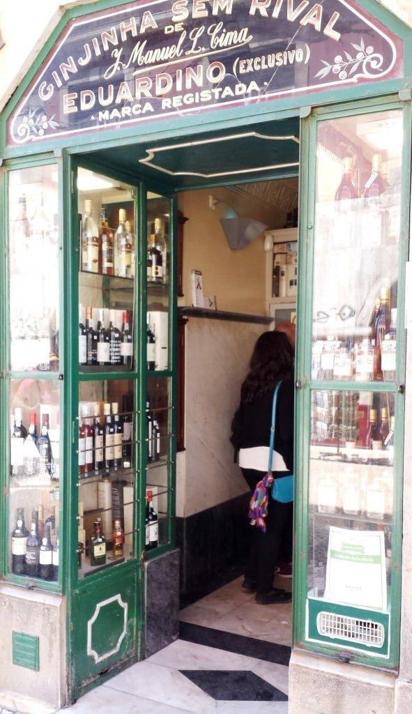 Ginjinha Sem Rival Bar in Lisbon