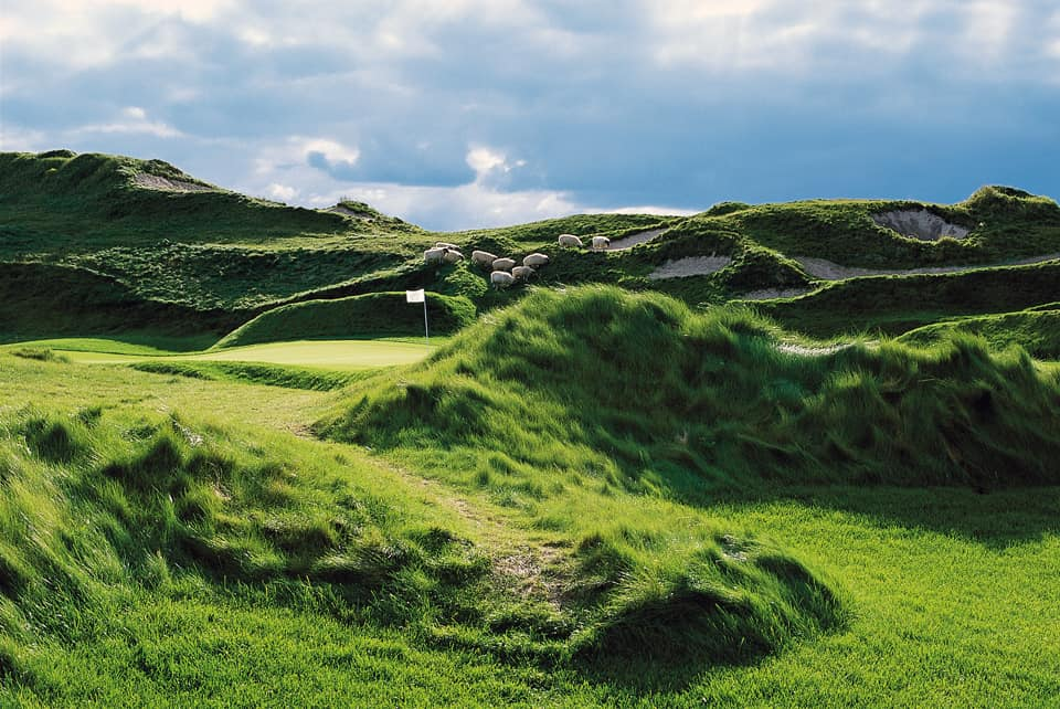 Irish Course at Whistling Straits, Hole 11, The American Club, Kohler, Wisconsin, photo courtesy Kohler Co. FWT Magazine.