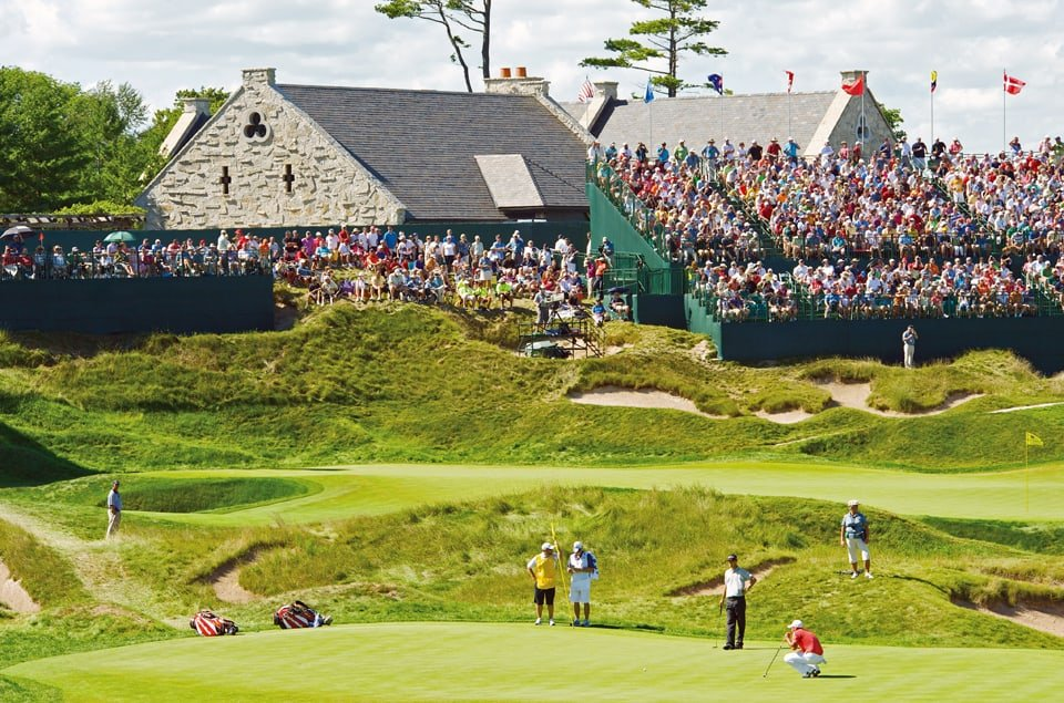 PGA at The American Club's Whistling Straits, Sheboygan, Wisconsin, photo courtesy Kohler Co. FWT Magazine.