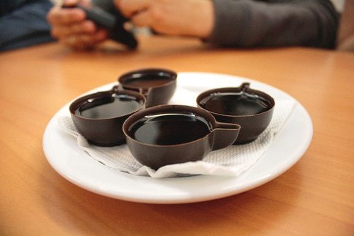 ginja in chocolate cup