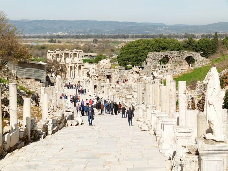 Stoa Basileios, Ephesus. FWT Magazine.