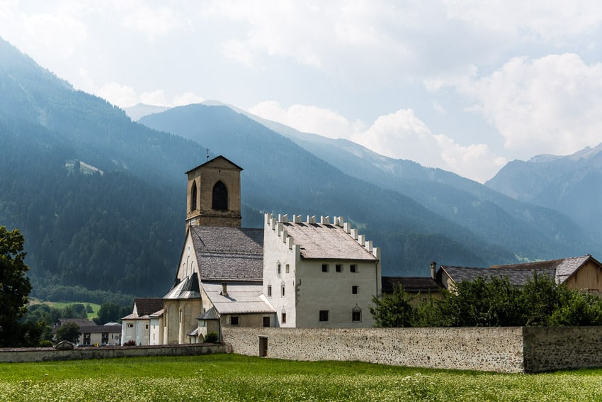 Convent of Saint John in Müstair Valley.
