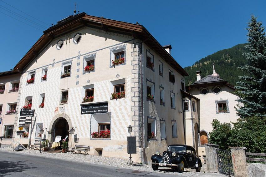Ritterhaus Chasa de Capol. The Müstair Valley.