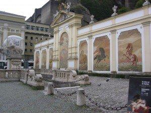 Horse Pond in Salzburg, Austria