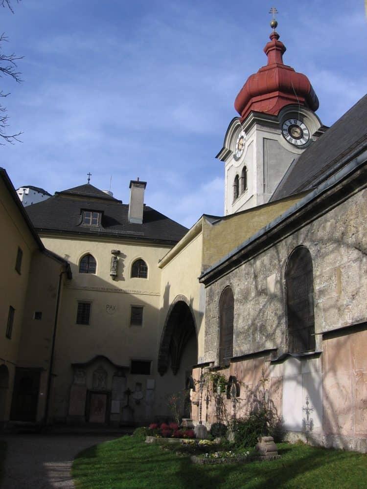 Nonnberg Abbey in Salzburg.