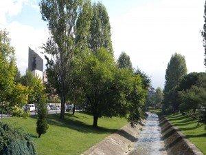 Canal in Tirana