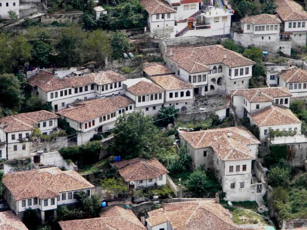 Albania Berat City of 1000 windows