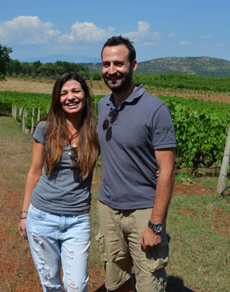 Christos and Nikoletta Tarala, Elinos Vineyards