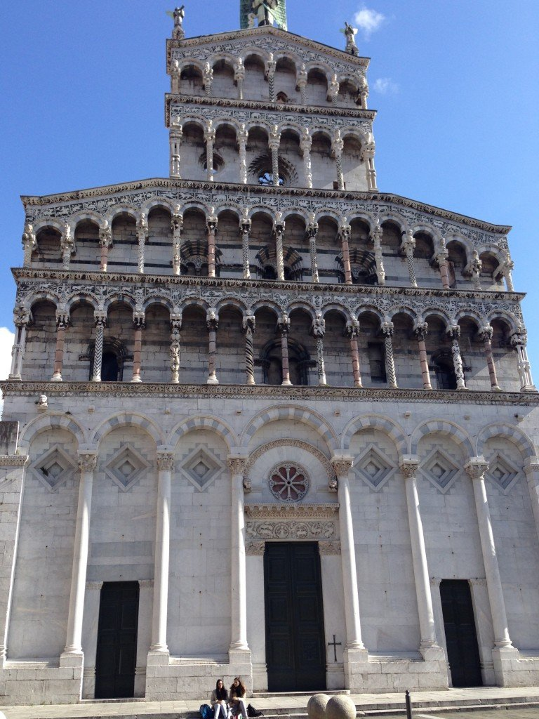 Church in Lucca Photo by Christine Salins
