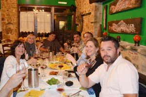 Greek Family Style Dinner with Winemakers in Naoussa