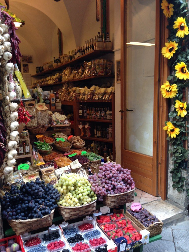 Food store in Siena, Tuscany Photo by Christine Salins