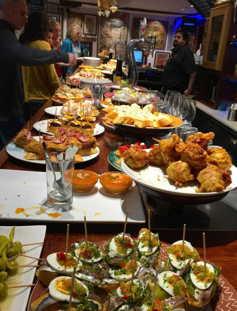 The locals love their pintxo photo by JRN. Vitoria-Gasteiz.
