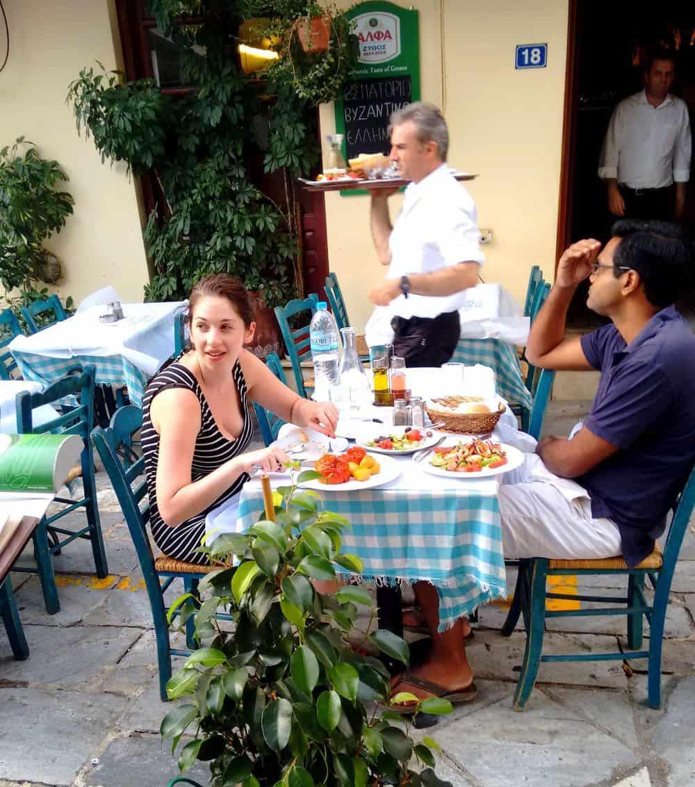 Street scene, Athens, Greece