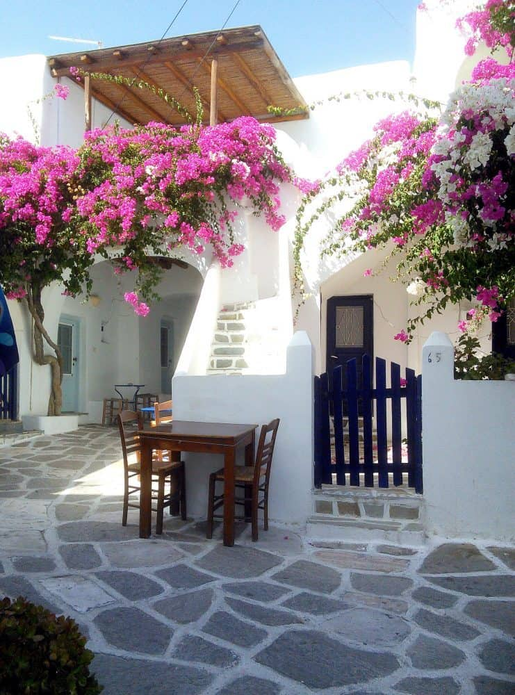 Small Cafe, Paros. Greece.