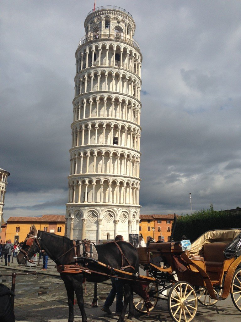 Leaning Tower of Pisa Photo by Christine Salins