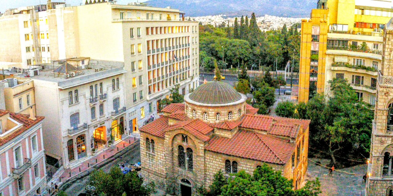 NEW Hotel: Hip Luxury in Ancient Athens
