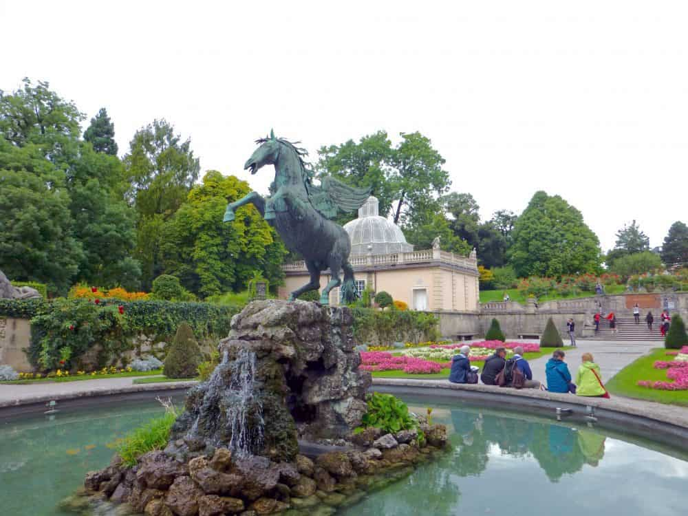 Pegasus Fountain, Mirabell Gardens, Salzburg
