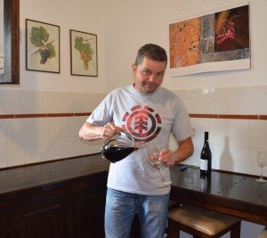 Petros Karydas, owner of Karyda Vineyards