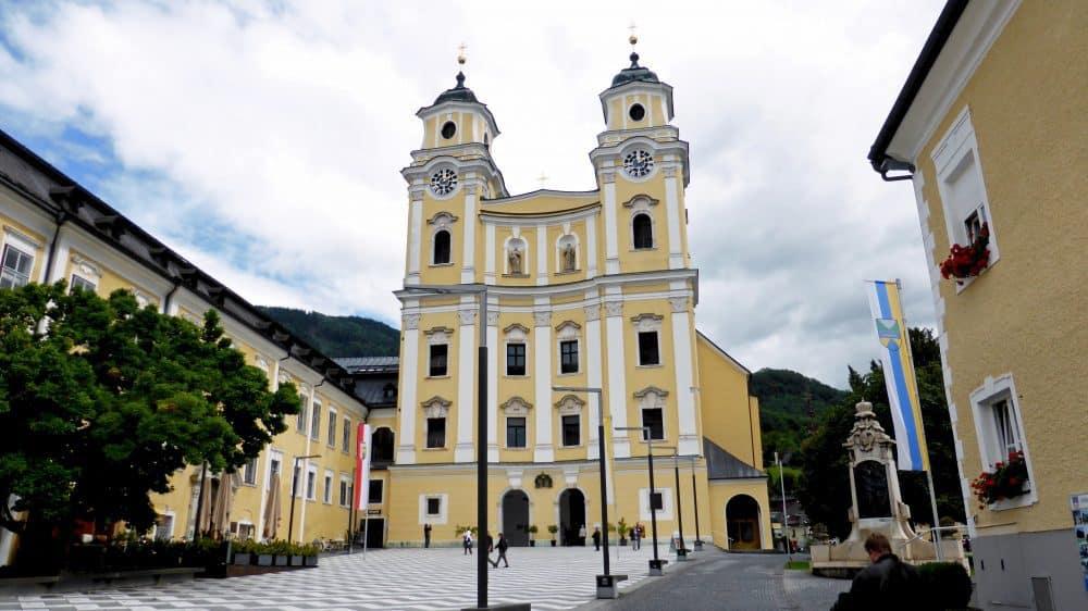 St. Micheal's Basilica, Mondsee area