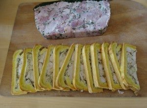 Terrines made by Katherine Frelon Photo by Maurie O'Connor
