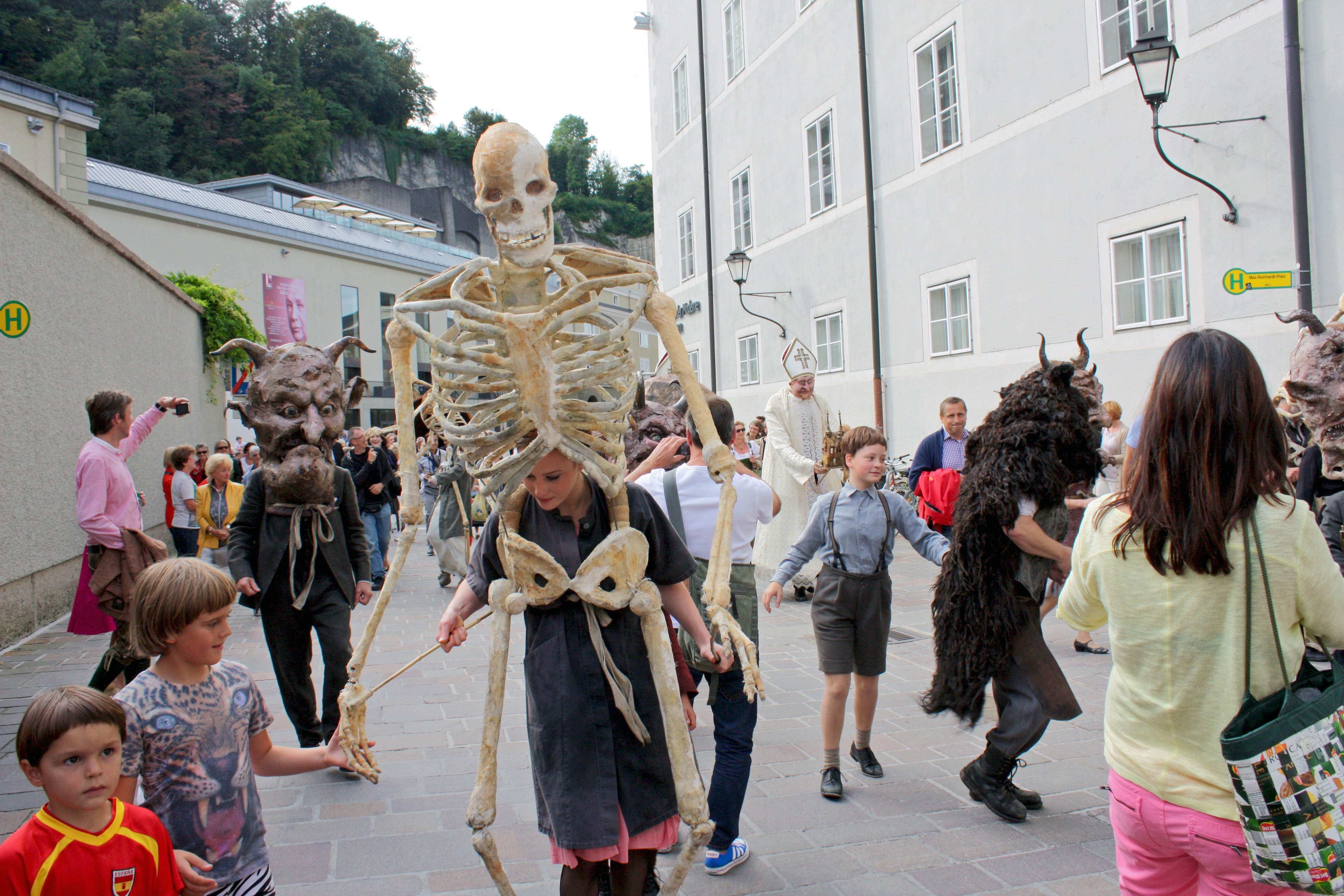Music Festival parade, Salzburg