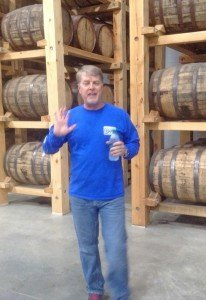 Skip Cortese leading the tour of the rum distillery