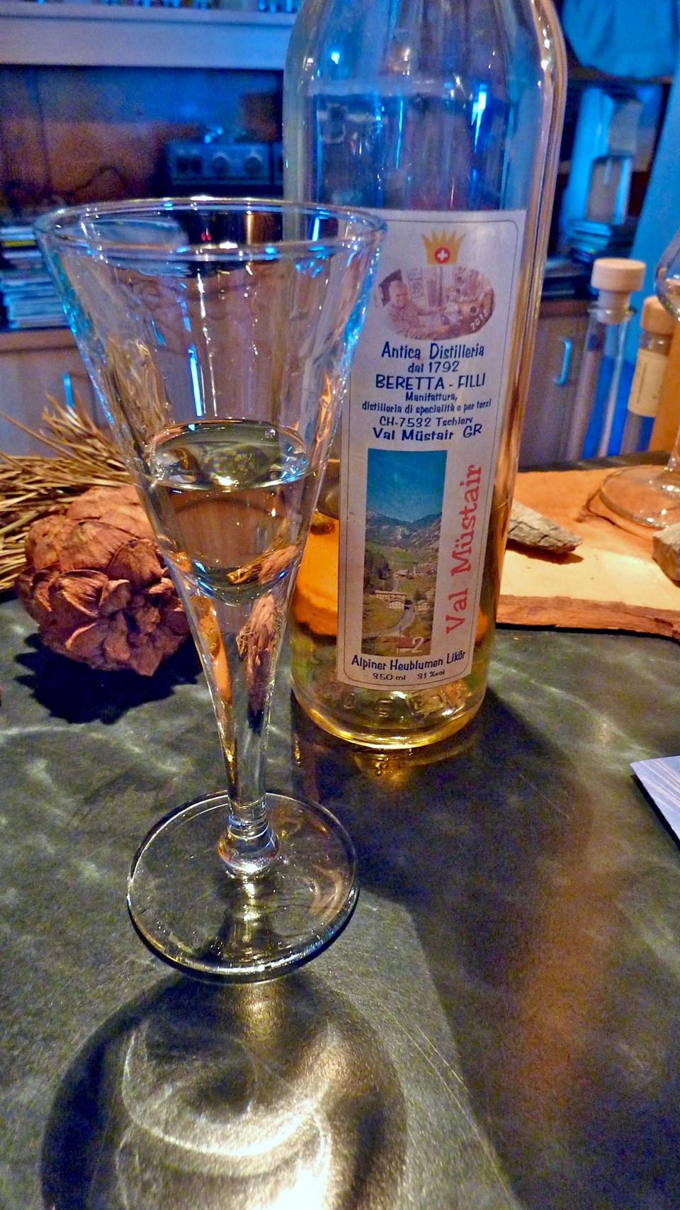 Alpiner Heublumen, Beretta distillery, Tschierv, Switzerland