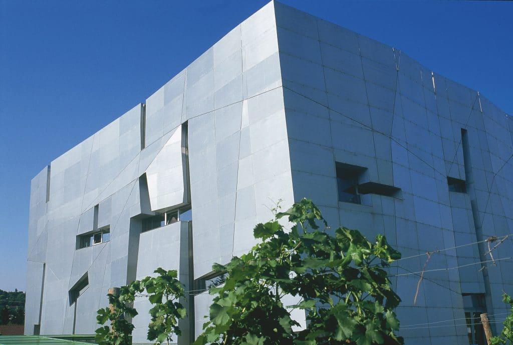 Loisium wine museum in Langenlois, where wine meets architecture. Austria.