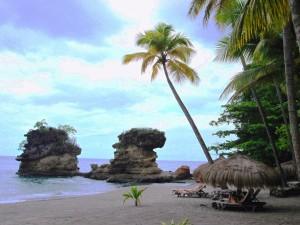 Anse Mamin Beach Formations