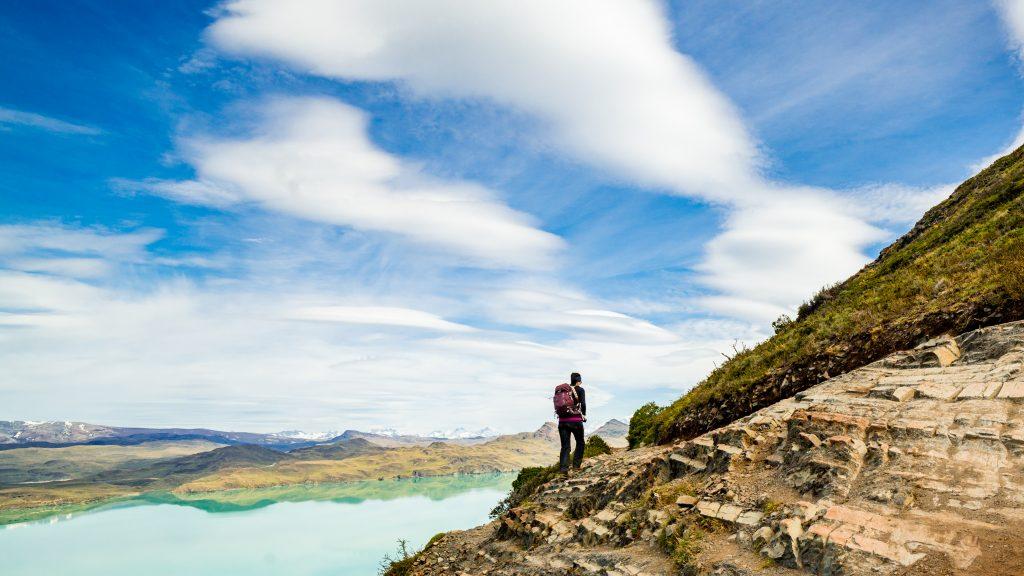 Glacial Lake, Patagonia.