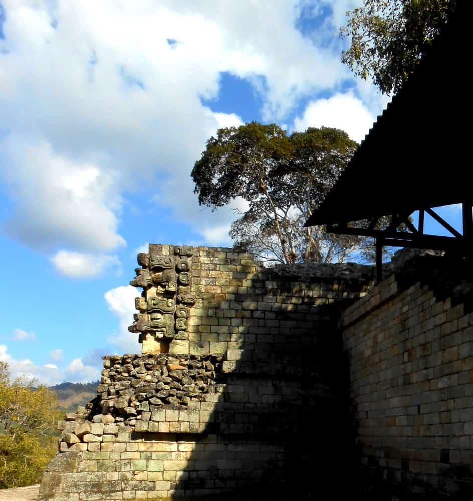 Detail, Copan Mayan Ruins