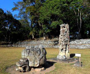 Stelae, Copan Mayan Ruins