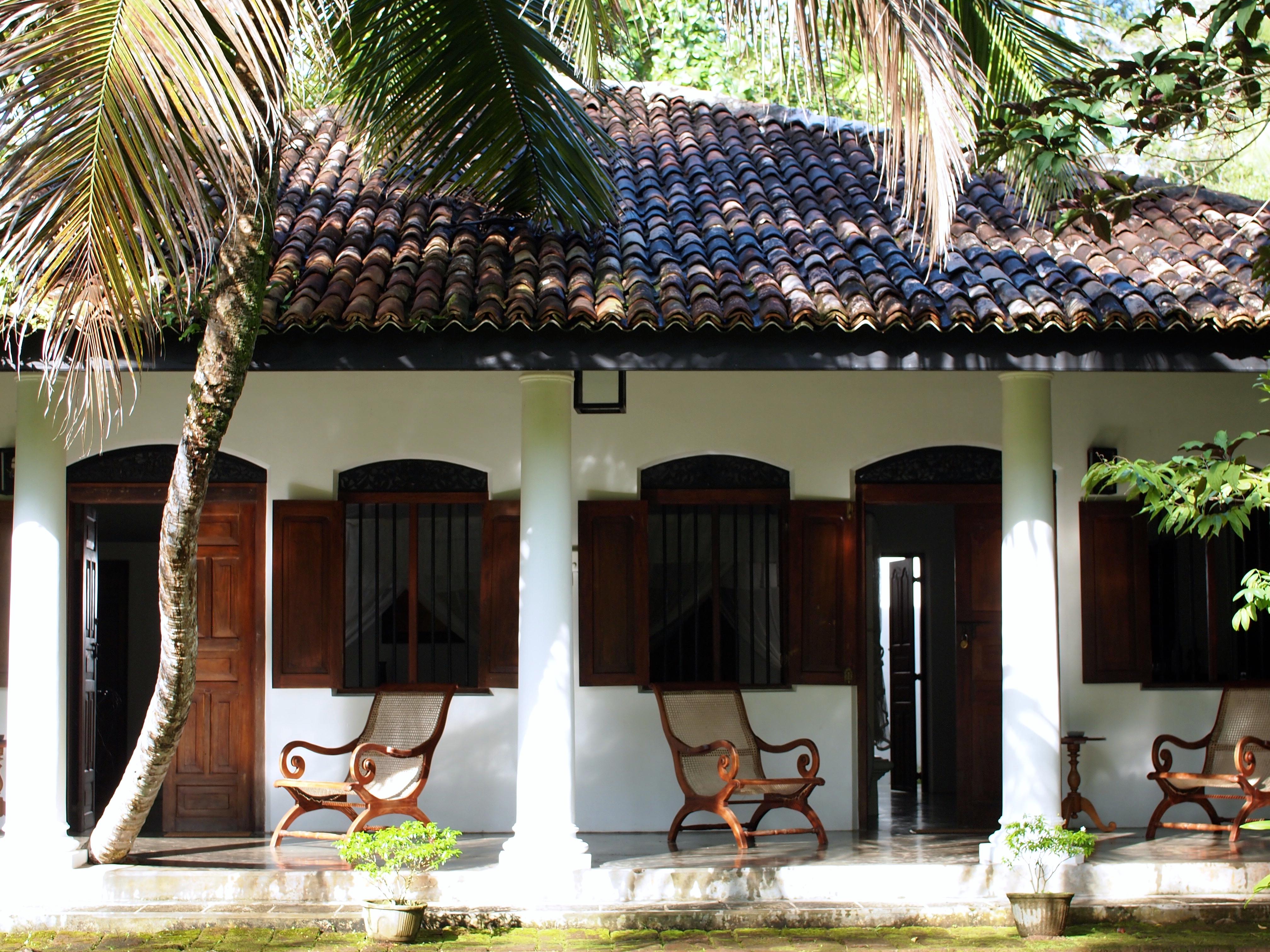 Photo of bungalow accommodation of Nisala Arana, Sri Lanka. FWT Magazine.