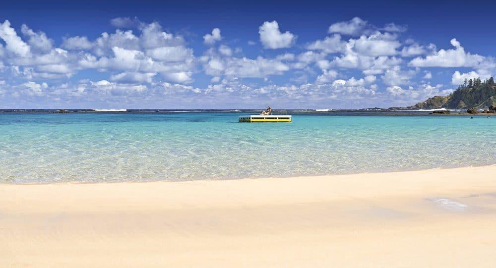 Photo of Emily Bay, Norfolk Island.