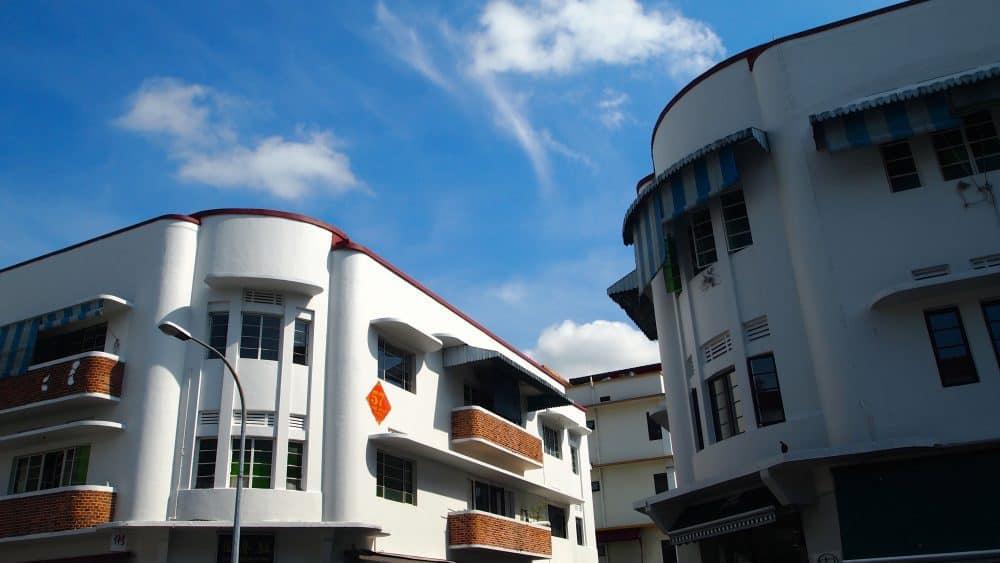 Art deco buildings, Tiong Bahru, Singapore. FWT Magazine.