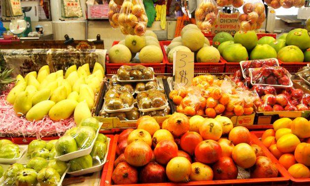 Bangkok's Food Market in Preparation for Dinner