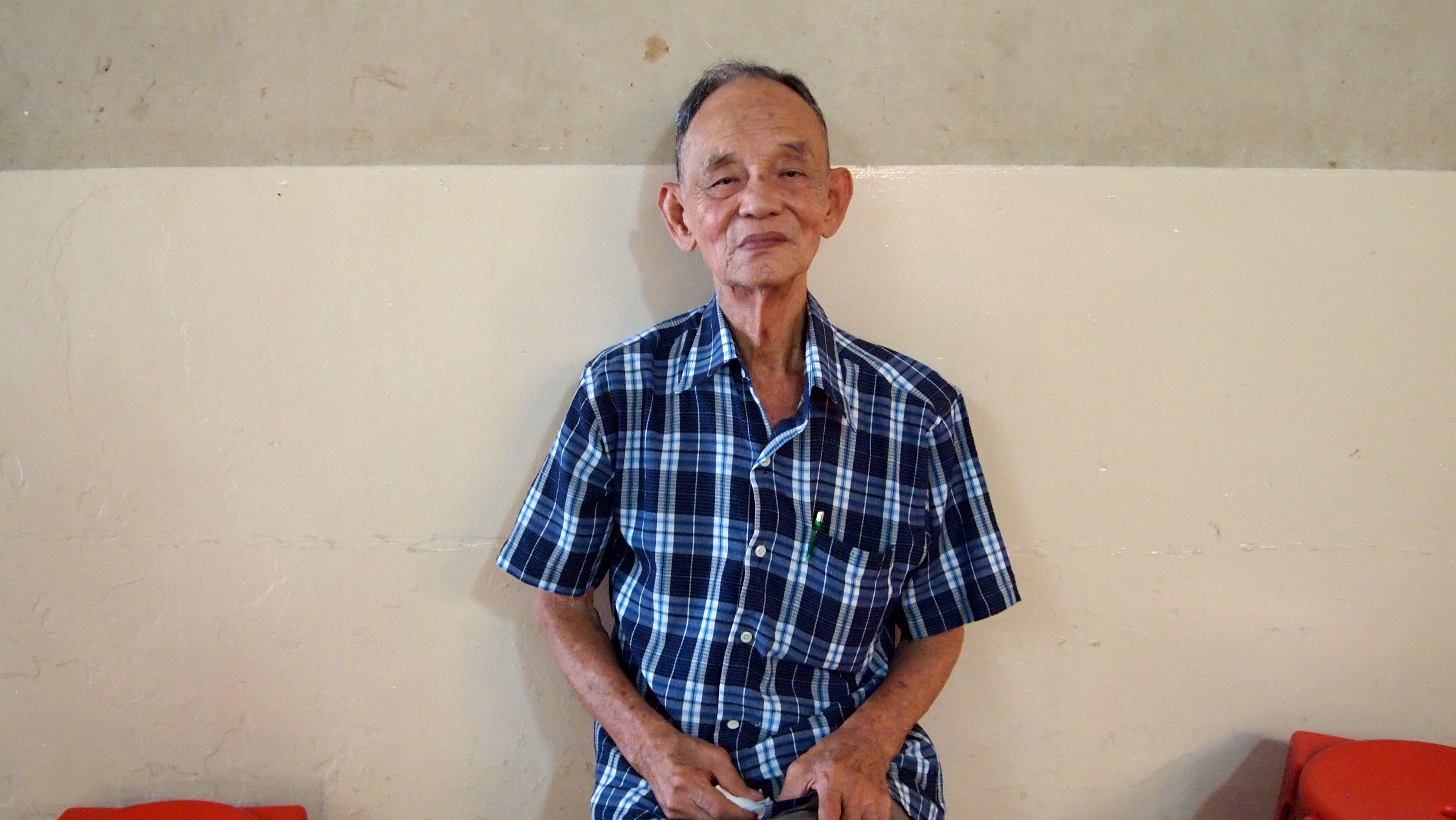 Local man of Tiong Bahru, Singapore. FWT Magazine.