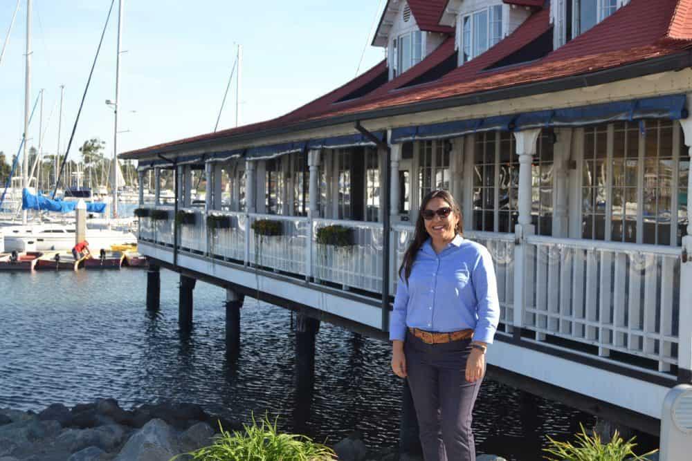 Claudia Ludlow, General Manager, Glorietta Bay Inn. (c) Visit Coronado. FWT Magazine.