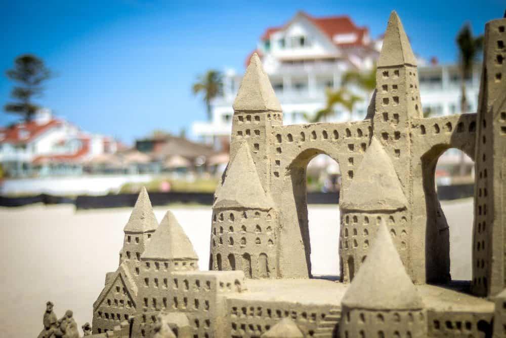 Coronado sand castles (c) Visit Coronado. FWT Magazine.