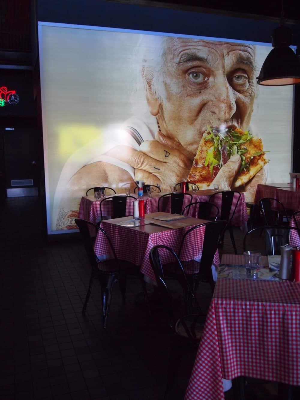 Interior of Brisbane restaurant, Alfredos (c) Jacqui Gibson. FWT Magazine.