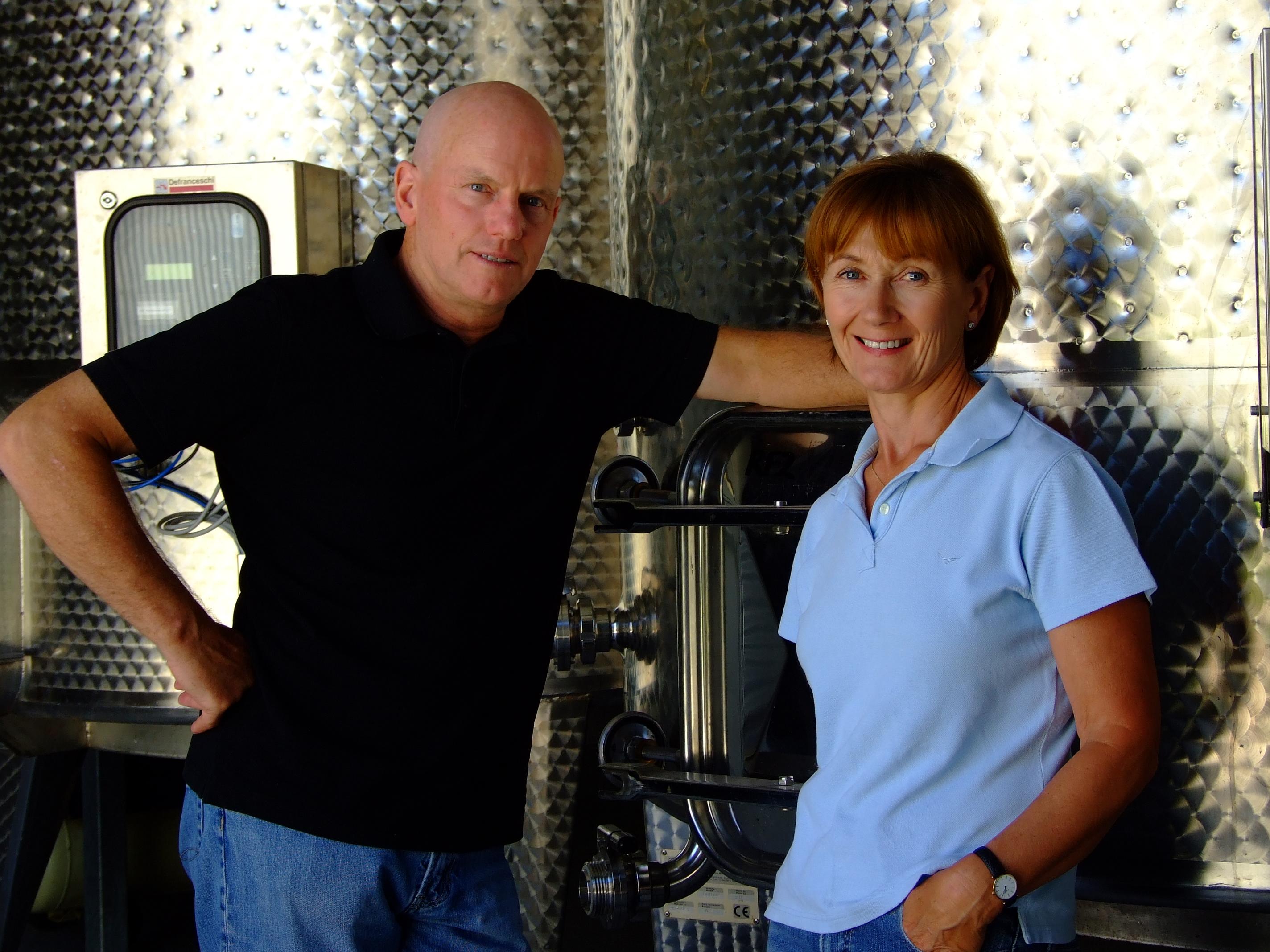 Jeffrey Grosset & Stephanie Toole of Clare Valley, Australia. FWT Magazine.
