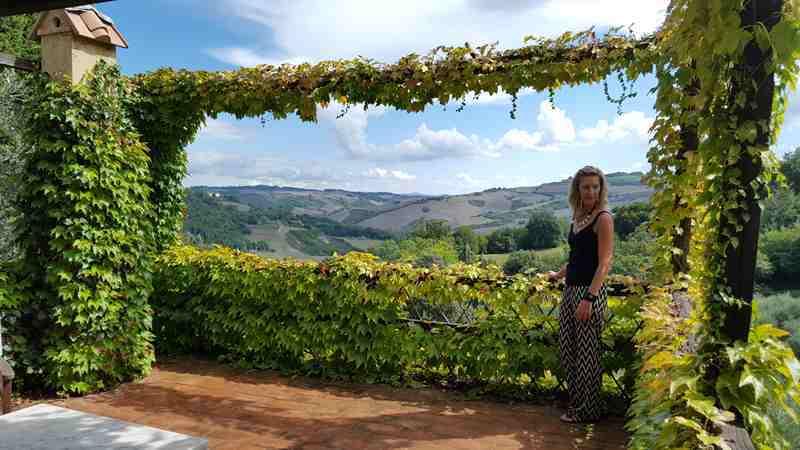 Podere San Lorenzo, Tuscany, Italy (c) Joy Steinberg. FWT Magazine.